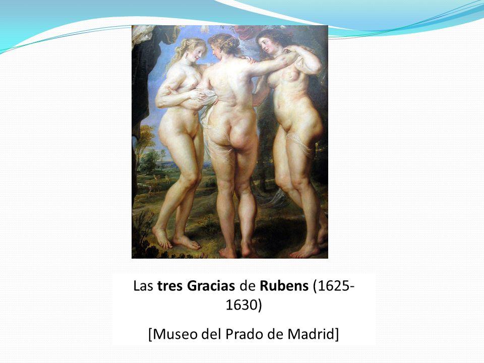 Las tres Gracias de Rubens (1625-1630) [Museo del Prado de Madrid]